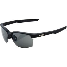 100% Sportcoupe Smoke - Lunettes cyclisme - noir